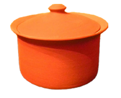 Clay Pot | Medium | 3 quart | MEC Handmade Clay Cookware