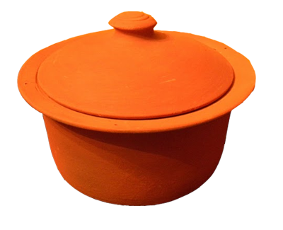 Clay Pot | Small | 2.25 quart | MEC Handmade Clay Cookware