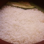 Plain rice cooked to perfection in our MEC pot