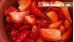 How to make Homemade Strawberry Jam. Made in 100% non-toxic pure-clay pot.