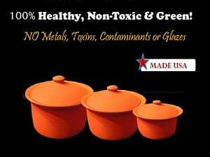 Why Choose Healthy Cookware- because it can cook your food in the most non-toxic way