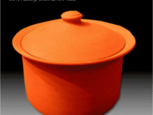 Handmade Dutch oven made from 100% tested clay